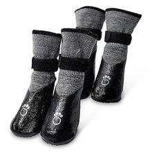 All-Terrain Dog Booties - Charcoal