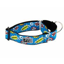 All Webbing Martingale Dog Training Collar - Comic Sounds