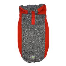 All Year Elasto-Fit Dog Hoodie - Red Marl
