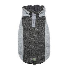 All Year Elasto-Fit Dog Hoodie - Silver Marl