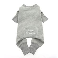 Alloy Gray Sweet Dreams Thermal Dog Pajamas by Doggie Design