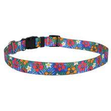 Hibiscus Paradise Dog Collar by Yellow Dog
