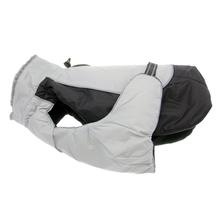 Alpine All-Weather Dog Coat by Doggie Design - Black and Gray