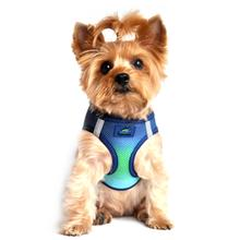 American River Choke-Free Dog Harness by Doggie Design - Northern Lights Ombre