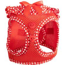 American River Choke-Free Dog Harness by Doggie Design - Red Polka Dot