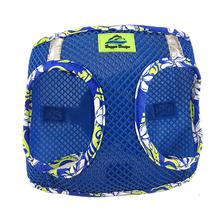 American River Hawaiian Trim Choke-Free Dog Harness by Doggie Design - Cobalt Blue