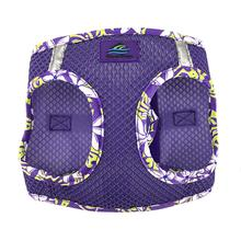 American River Hawaiian Trim Choke-Free Dog Harness by Doggie Design - Paisley Purple