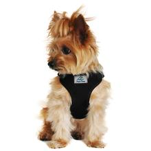 Wrap and Snap Choke Free Dog Harness by Doggie Design - Black
