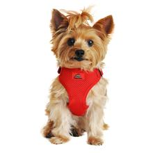 Wrap and Snap Choke Free Dog Harness by Doggie Design - Flame Red