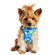 Wrap and Snap Choke Free Dog Harness by Doggie Design - Hawaiian Blue
