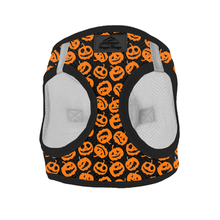 American River Choke Free Dog Harness Holiday Line - Halloween Jack-o-Lanterns