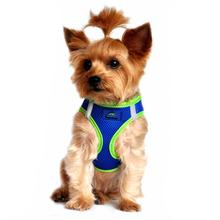 American River Top Stitch Dog Harness by Doggie Design - Cobalt Blue