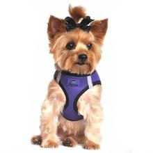 American River Top Stitch Dog Harness by Doggie Design - Ultra Violet