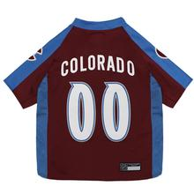 Colorado Avalanche Alternate Dog Jersey