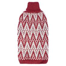 Andean Peaks Alpaca Dog Sweater by Alqo Wasi - Red