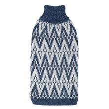 Andean Peaks Alpaca Dog Sweater by Alqo Wasi - Blue