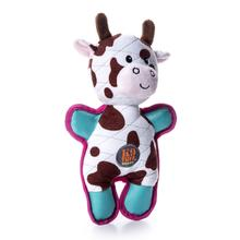 Charming Tuffins Dog Toy - Cow