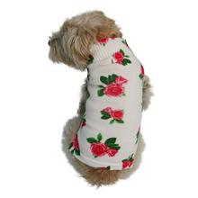 The Dog Squad Sweet Rose Mockneck Dog Shirt