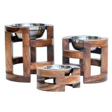 Briar Raised Dog Feeder Bowl by Unleashed Life