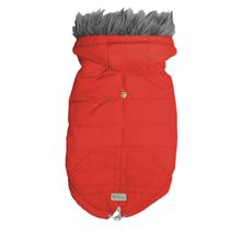 Arctic Parka Dog Jacket - Scooter Red