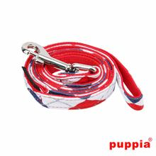 Argyle Dog Leash by Puppia - Red