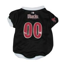 Arizona Diamondbacks Baseball Dog Jersey - White Trim