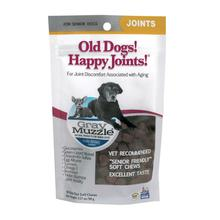 Ark Naturals Gray Muzzle Old Dog! Happy Joint Support Dog Chew