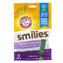 Arm & Hammer Dental Treats Smilies Dog Chews - Mint Flavor