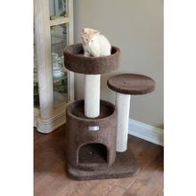 Armarkat 30-inch Premium Carpeted Cat Tree - Brown