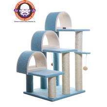 Armarkat 38-inch Classic Cat Tree - Sky Blue