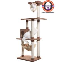 Armarkat 70-inch Premium Cat Tree - Tan