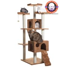 Armarkat 74-inch Classic Cat Tree - Brown