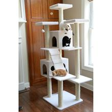 Armarkat 77-inch Classic Cat Tree - Ivory