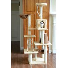 Armarkat 78-inch Premium Cat Tree - Goldenrod