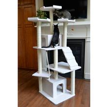 Armarkat 82-inch Classic Cat Tree - Ivory