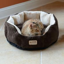 Armarkat Cozy Pet Bed - Mocha/Beige