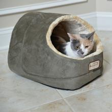 Armarkat Pet Bed Cave - Green/Beige