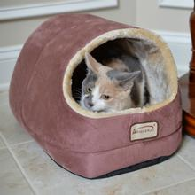 Armarkat Pet Bed Cave - Red/Beige