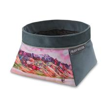 Artistic Series Quencher Travel Dog Bowl by RuffWear - Alvord Desert