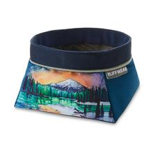 Artistic Series Quencher Travel Dog Bowl by RuffWear - Sparks Lake