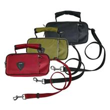 Ashton Dog Leash with Accessory Bag by Puppia Life
