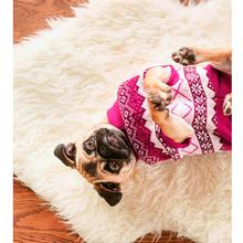 Aspen Dog Sweater - Bubble Pink