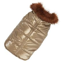 Aspen Puffer Dog Coat by Up Country - Gold IB #67863