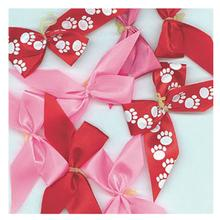 Assorted Grooming Dog Bows - Pinks/Reds