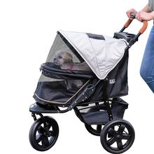 Pet Gear AT3 No-Zip Pet Stroller - Summit Grey
