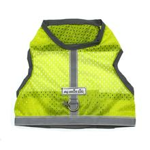 Athletic Mesh Dog Vest Harness - Yellow