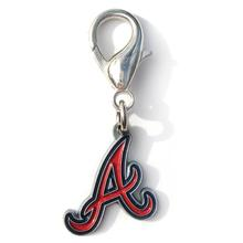 Atlanta Braves Logo Dog Collar Charm