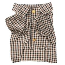 Grandpa's Plaid Dog Shirt by Dog Threads