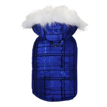 Oliver Dog Parka by Pooch Outfitters - Blue