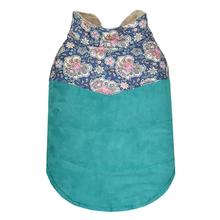 Paisley Dog Jacket by Parisian Pet - Teal